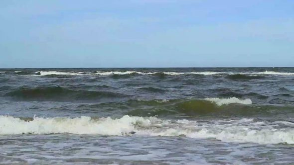 Restless Waves Panned Distance View