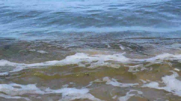 Very Close Shot Of Sea Water