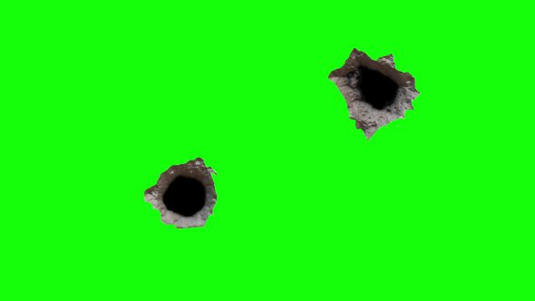 Two Bullet Holes 5
