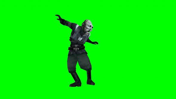 Metro Cop Dancing Hl2