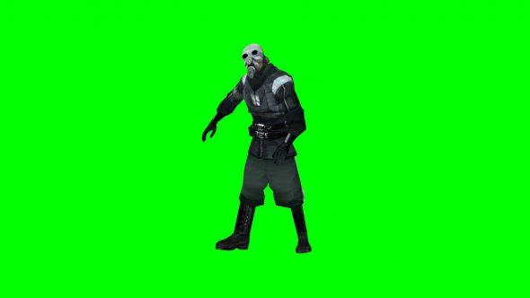 Metro Cop Robot Dance Hl2