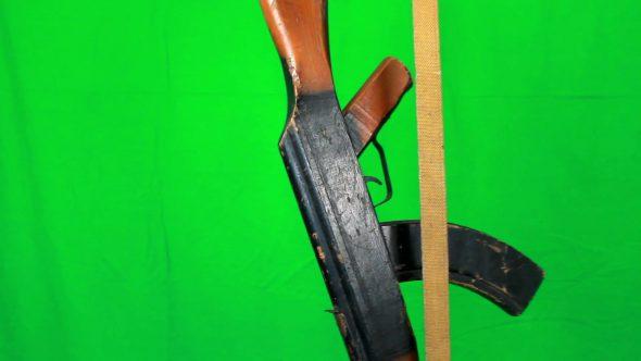 Ak47 Hangs On Sling 2