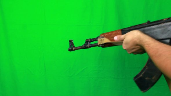Shooting Twice With Ak47
