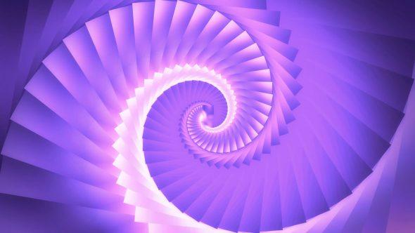 Kaleidoscope Twirl Transition