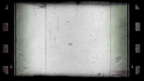 Simple Old Photographic Film Look With Sides