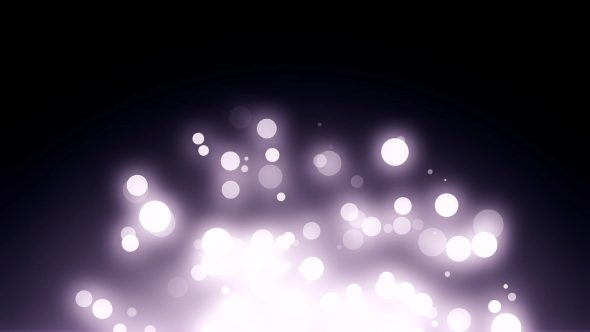 Bokeh Particles With Flare Bottom