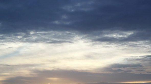 Simple Morning Sky Timelapse