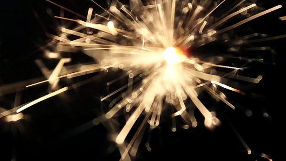 Burning Bengal Lights Sparkler 7