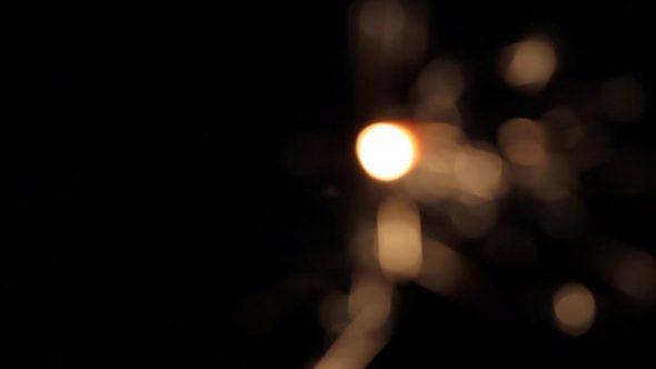 Burning Bengal Lights Sparkler 6