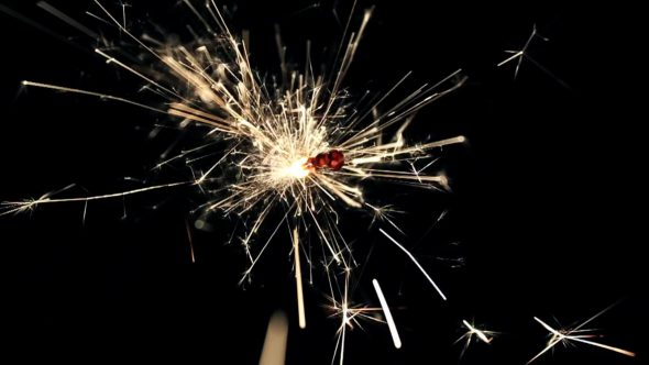 Burning Bengal Lights Sparkler 12