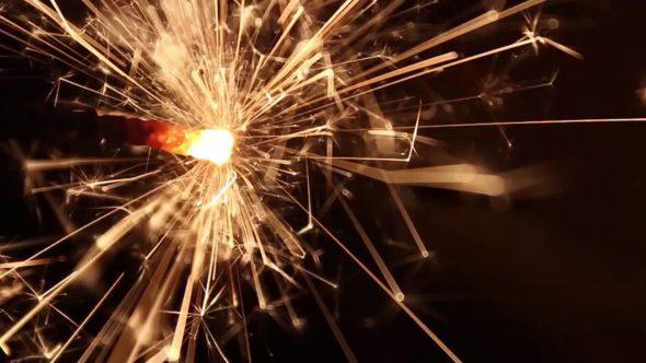 Burning Bengal Lights Sparkler 9