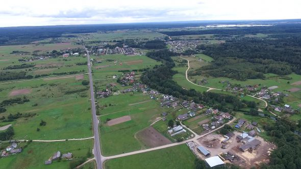 Flying Over Countryside 8
