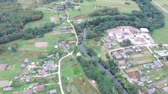 Flying Over Countryside 10