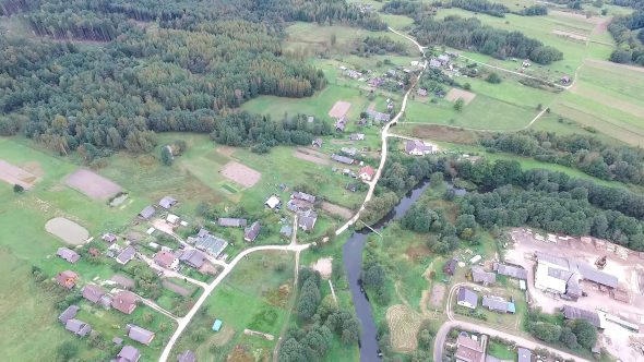 Flying Over Countryside 9