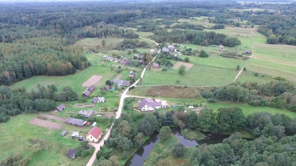 Flying Over Countryside 15