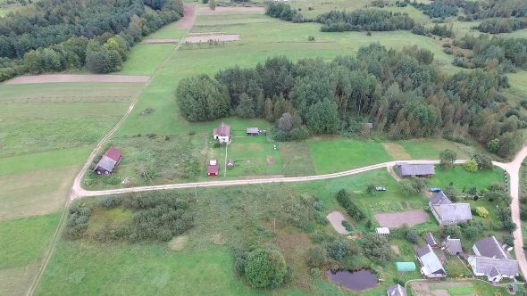 Flying Over Countryside 16