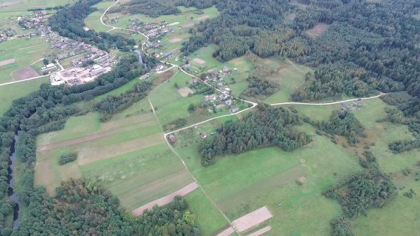 Flying Over Countryside 17
