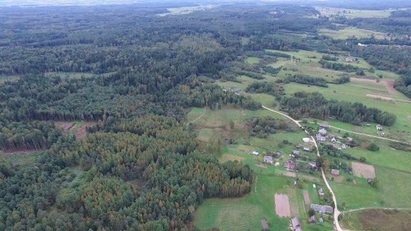 Panorama Over Countryside 4
