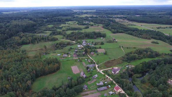 Panorama Over Countryside 5