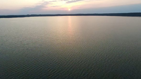 Flight Over The Lake, Sundown 13