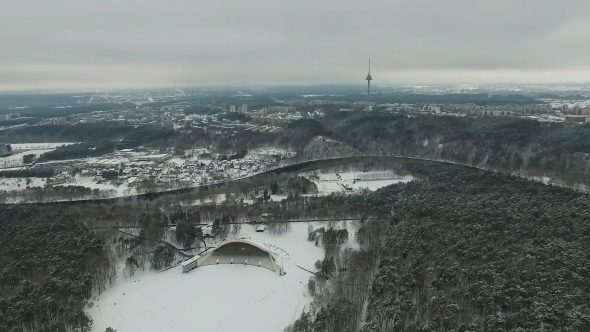 Flight Over Vingis Park, Vilnius 2