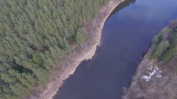 Aerial View Of River 2