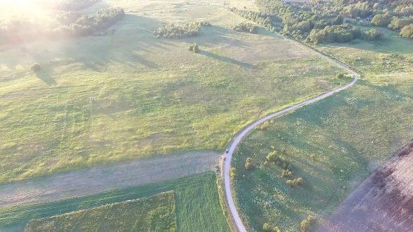 Flight Over Meadow 9