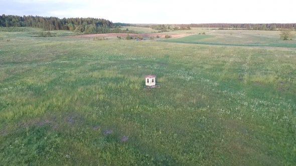 Flight Over The Meadow Near Little House 7