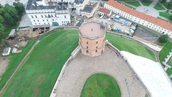 Flying Around The Tower 2
