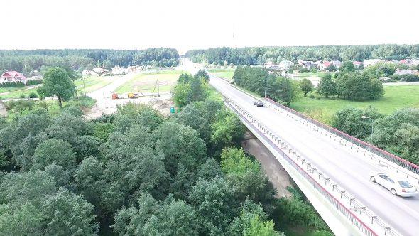 Flight Along The Bridge Through River 1