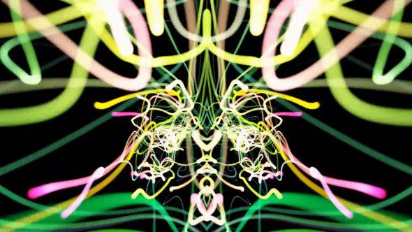 Abstract Strings VJ Loop 6