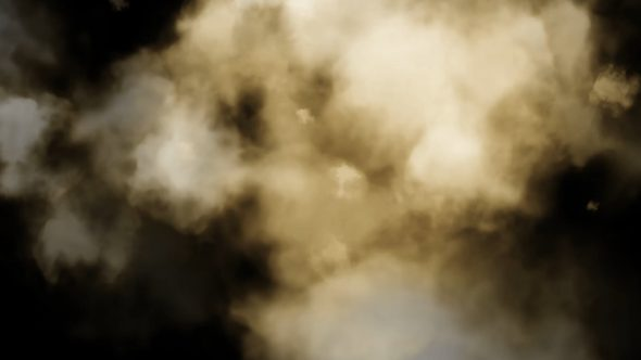 Abstract Smoke Clouds To Face