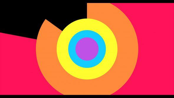 4K Circle Radius Flat Transition