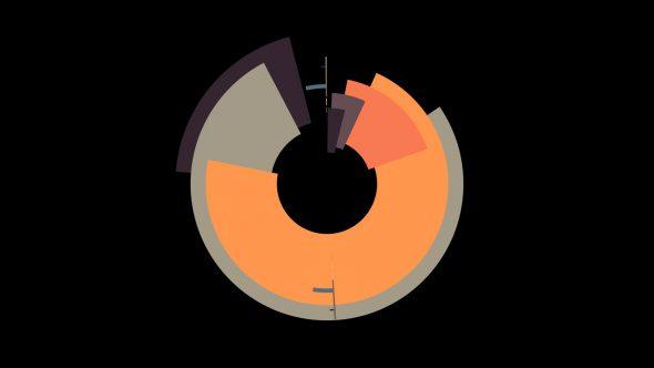 4K Flat Circle Transition Element 2