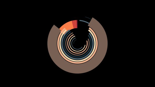 4K Flat Circle Transition Element 7