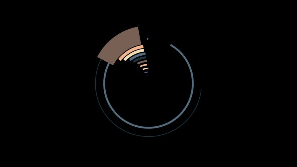 4K Flat Circle Transition Element 5