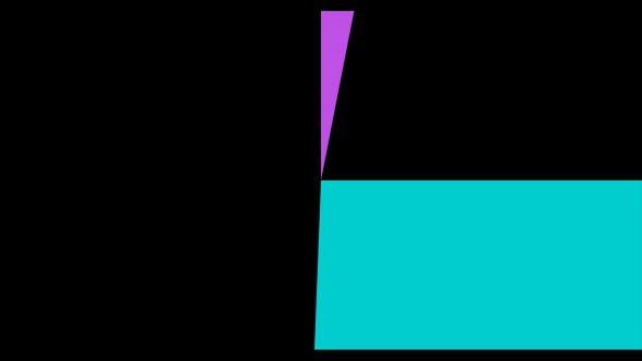 4K Multicolor Cinema Start Radius Style Flat Transition 1