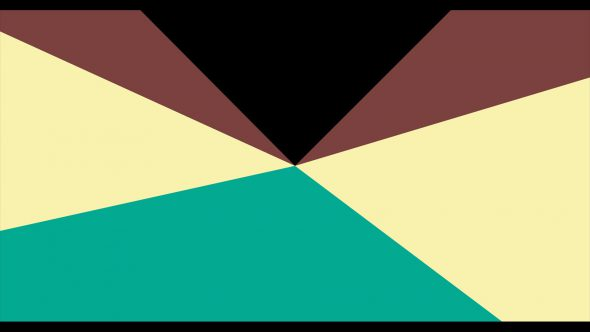 4K Multicolor Cinema Start Radius Style Flat Transition 3