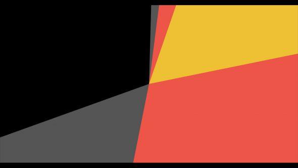 4K Multicolor Cinema Start Radius Style Flat Transition 5