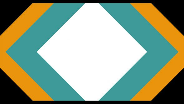 4K Multiple Rhombs Flat Transition