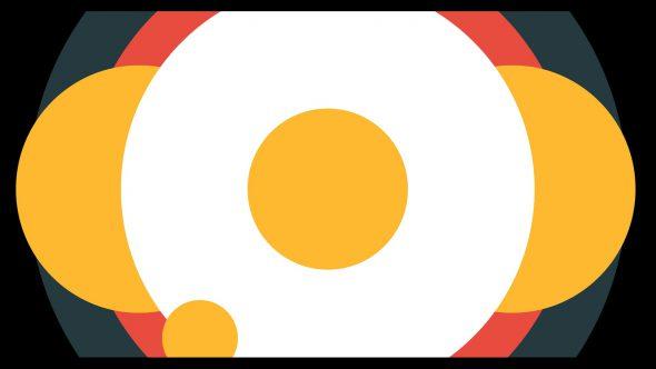 4K Random Circles Super Flat Transition