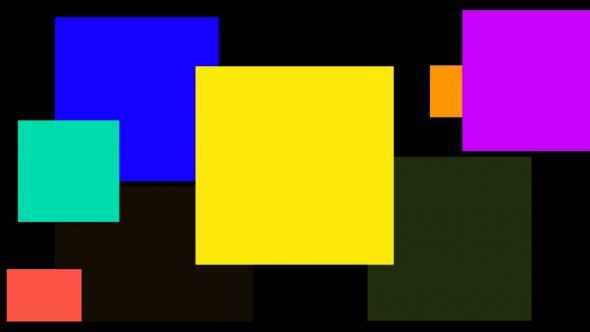 4K Random Squares Transition