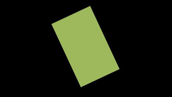 4K Rotating Square Flat Transition 1