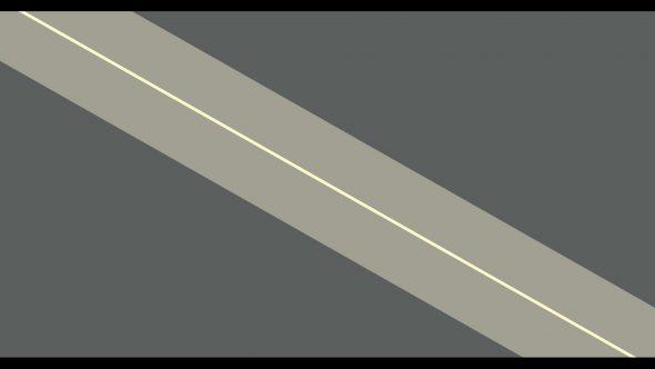 4K Side Stripes Flat Transition