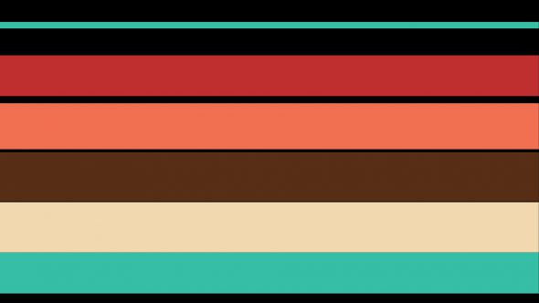 4K Stripes Flat Transition From Center