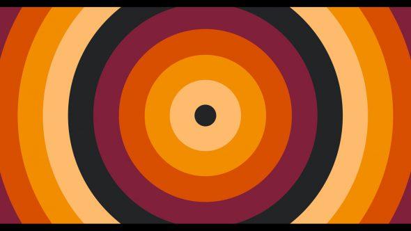 4K Super Flat Circle Flat Transition