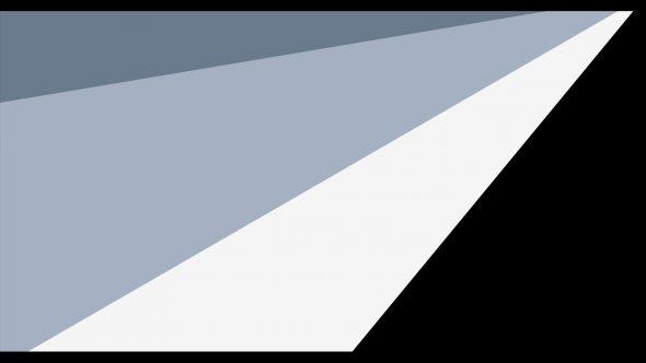 4K Super Flat Transition From Left Upper Corner